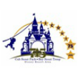 Combined logo for Pack 75 and Troop 75 logo, proudly serving the Disney Resort Area of Southern Anaheim - Northern Garden Grove, CA for over 50 years!