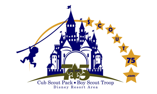 New combined logo for Pack and Troop 75 that will be placed on both sides of trailer.