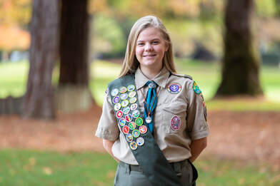 Bay Area's first female Scout